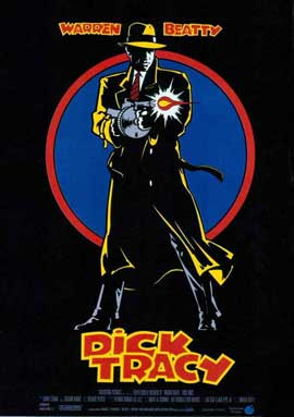 Dick Tracy - 27 x 40 Movie Poster - Spanish Style B