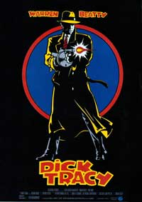 Dick Tracy - 43 x 62 Movie Poster - Spanish Style A
