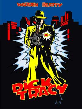 Dick Tracy - 27 x 40 Movie Poster - Style L