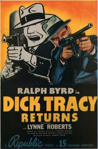 Dick Tracy Returns - 11 x 17 Movie Poster - Style B