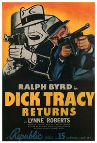 Dick Tracy Returns - 27 x 40 Movie Poster - Style B