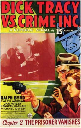 Dick Tracy vs. Crime Inc. - 11 x 17 Movie Poster - Style B
