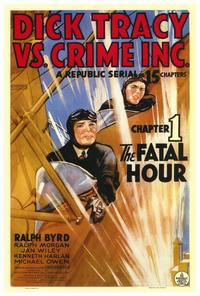 Dick Tracy vs. Crime Inc. - 27 x 40 Movie Poster - Style A