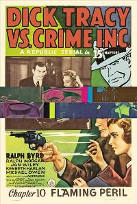 Dick Tracy vs. Crime Inc. - 11 x 17 Movie Poster - Style A