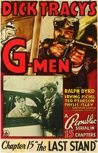Dick Tracy's G-Men - 11 x 17 Movie Poster - Style A