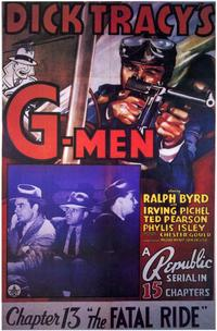 Dick Tracy's G-Men - 11 x 17 Movie Poster - Style B