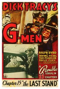 Dick Tracy's G-Men - 27 x 40 Movie Poster - Style A