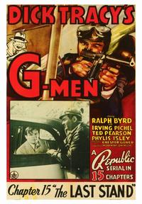 Dick Tracy's G-Men - 43 x 62 Movie Poster - Bus Shelter Style A