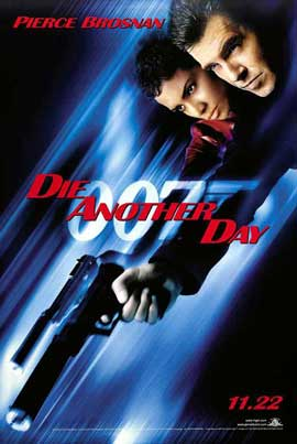 Die Another Day - 27 x 40 Movie Poster - Style F