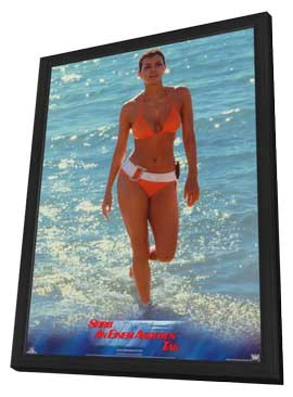Die Another Day - 11 x 17 Movie Poster - German Style A - in Deluxe Wood Frame