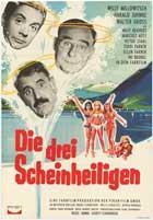 Die drei Scheinheiligen - 11 x 17 Movie Poster - German Style A