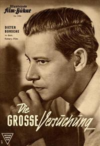 Die Gro�e Versuchung - 11 x 17 Movie Poster - German Style A