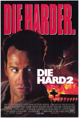 Die Hard 2: Die Harder - 27 x 40 Movie Poster - Style A