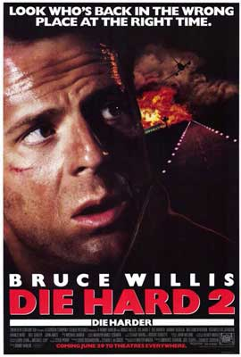 Die Hard 2: Die Harder - 27 x 40 Movie Poster - Style B