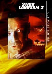 Die Hard 2: Die Harder - 27 x 40 Movie Poster - German Style A