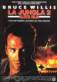 Die Hard 2: Die Harder - 27 x 40 Movie Poster - Spanish Style A