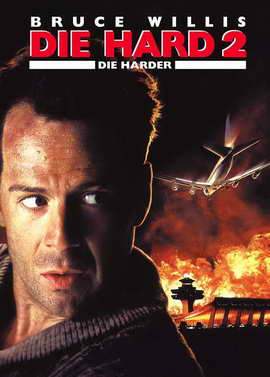 Die Hard 2: Die Harder - 27 x 40 Movie Poster - German Style B