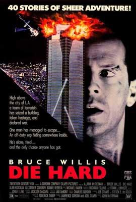 Die Hard - 27 x 40 Movie Poster - Style B