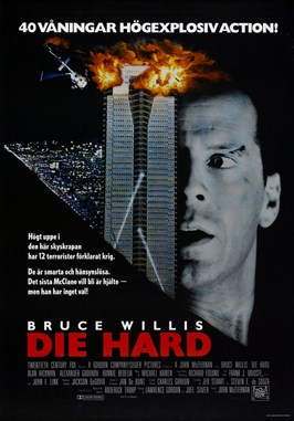 Die Hard - 27 x 40 Movie Poster