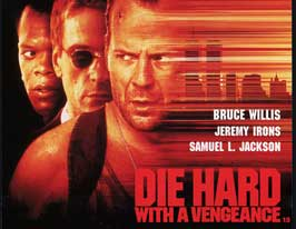 Die Hard: With a Vengeance - 22 x 28 Movie Poster - Half Sheet Style A