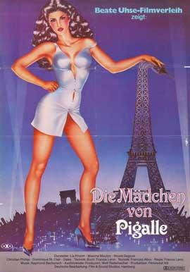 Die Madchen von Pigalle - 11 x 17 Movie Poster - German Style A