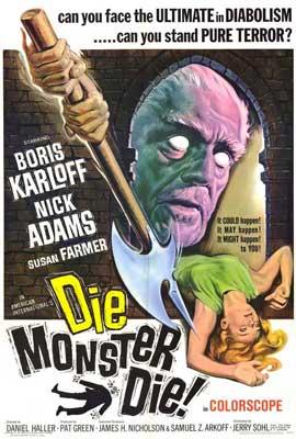 Die, Monster, Die! - 27 x 40 Movie Poster - Style A
