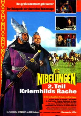 Die Nibelungen, Teil 1 - Siegfried - 11 x 17 Movie Poster - German Style B