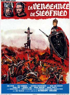 Die Nibelungen, Teil 2 - Kriemhilds Rache - 11 x 17 Movie Poster - French Style A