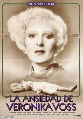Die Sehnsucht der Veronika Voss - 27 x 40 Movie Poster - Spanish Style A