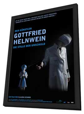 Die Stille der Unschuld - Der Kunstler Gottfried Helnwein - 11 x 17 Movie Poster - German Style A - in Deluxe Wood Frame