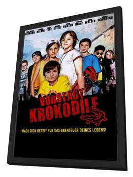 Die Vorstadtkrokodile (TV) - 27 x 40 Movie Poster - German Style A - in Deluxe Wood Frame