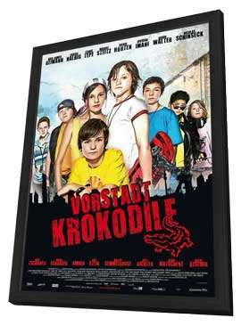 Die Vorstadtkrokodile (TV) - 11 x 17 Movie Poster - German Style A - in Deluxe Wood Frame