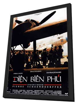 Dien Bien Phu - 27 x 40 Movie Poster - French Style A - in Deluxe Wood Frame