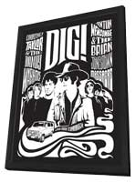 Dig! - 27 x 40 Movie Poster - French Style A - in Deluxe Wood Frame