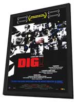 Dig! - 11 x 17 Movie Poster - Style A - in Deluxe Wood Frame