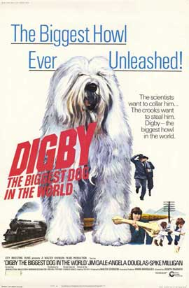 Digby, the Biggest Dog in the World - 11 x 17 Movie Poster - Style A