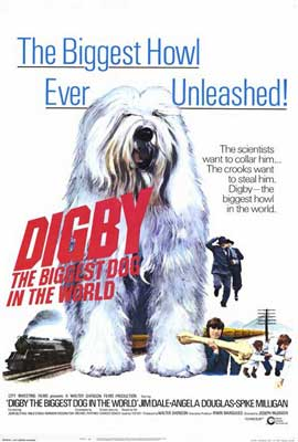 Digby, the Biggest Dog in the World - 27 x 40 Movie Poster - Style A