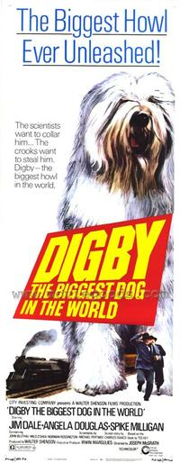 Digby, the Biggest Dog in the World - 27 x 40 Movie Poster - Style B