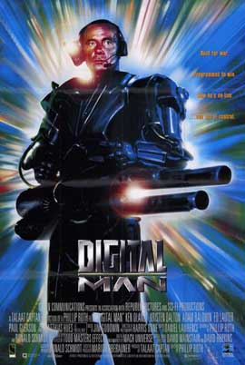 Digital Man - 11 x 17 Movie Poster - Style A