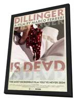 Dillinger Is Dead - 27 x 40 Movie Poster - Style A - in Deluxe Wood Frame