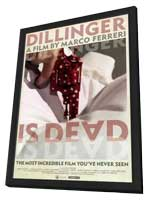 Dillinger Is Dead - 11 x 17 Movie Poster - Style A - in Deluxe Wood Frame