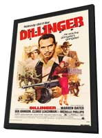 Dillinger - 27 x 40 Movie Poster - Style A - in Deluxe Wood Frame
