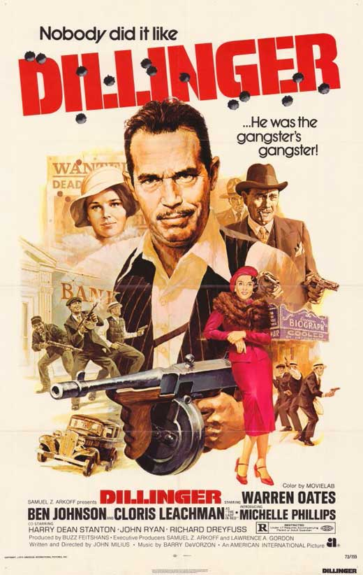 Dillinger Movie Posters From Movie Poster Shop