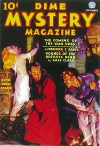 Dime Mystery  Magazine (Pulp) - 11 x 17 Pulp Poster - Style B