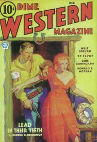 Dime Western Magazine (Pulp) - 11 x 17 Pulp Poster - Style A