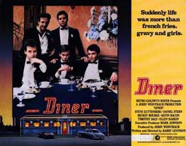 Diner - 11 x 14 Movie Poster - Style A