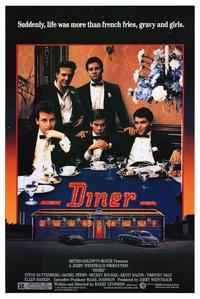 Diner - 43 x 62 Movie Poster - Bus Shelter Style A