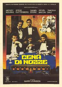 Diner - 27 x 40 Movie Poster - Italian Style A