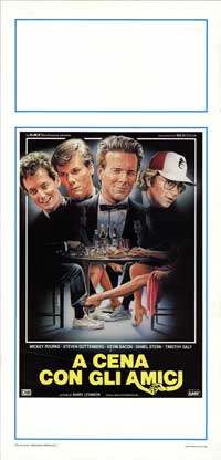 Diner - 13 x 28 Movie Poster - Italian Style A