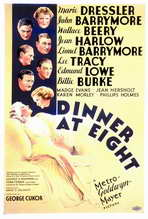 Dinner at Eight - 27 x 40 Movie Poster - Style A